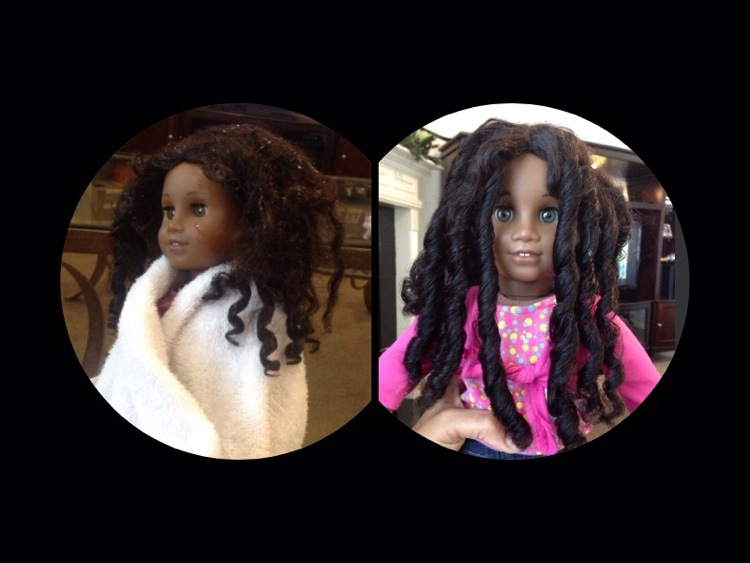 How To Detangle And Re-curl Your Doll's Hair